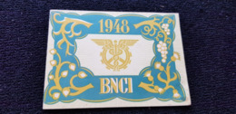 MINI CALENDRIER 1948 BNCI Banque Nationale Pour Le Commerce Et L'Industrie ( Banquier Compte ) - Calendriers