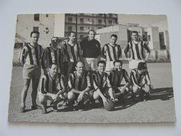 3 FOTO  SQUADRA CALCIO   BARI   14,5 X 10  FOOTBALL  SOCCER  FUTBOL FOTBOLL - Bekleidung, Souvenirs Und Sonstige