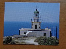Vuurtoren, Phare, Lighthouse / Santorini (Greece) Akrotini Lighthouse -> Unwritten - Lighthouses