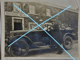 Photox2 BARAQUE MICHEL Région Spa Jalhay Eupen Waimes Province De Liège Voiture Automobile Auto Circa 1925 - Places