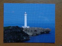 Vuurtoren, Phare, Lighthouse / Japan, Zanpa Saki Lighthouse, Okinawa Island -> Unwritten - Lighthouses