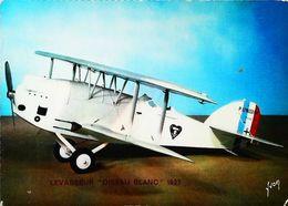 """AVION LEVASSEUR """"Oiseau Blanc """" 1927 - Carte Postale Modèle Réduit Echelle 1./10 - Aviones & Helicópteros"""