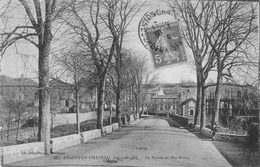 Argenton Château - La Route Au Bas Bourg - Argenton Chateau