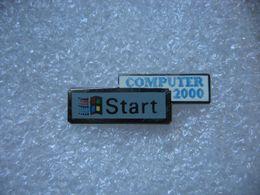 Pin's START, Computer 2000 - Informatique