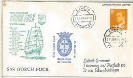 CANARIAS VISITA DEL BUQUE ESCUELA ALEMAN GORCH FOCK 1984 MAT TENERIFE CAMBIO - 1931-Heute: 2. Rep. - ... Juan Carlos I