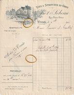 Vitré---ille Et Vilaine--35---arot---lebeau-----vins Et Spiritueux - 1900 – 1949
