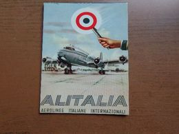 Luchtvaart, Airlines / Air Alitalia -> Unwritten - Avions