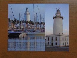 Vuurtoren, Phare, Lighthouse / Malaga (Spain) La Farola - Malaga Lighthouse -> Unwritten - Lighthouses