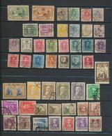 Espagne  Collection  De 48 Timbres Oblitérés - Colecciones