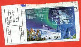 Finland 2007.  International Polar Year. Used Block. - Protección Del Medio Ambiente Y Del Clima