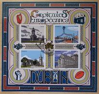 """2020 """" CAPITALES EUROPÉENNES - DUBLIN"""" - BLOC FEUILLET 5384 à 5387 - F5384 - OBLITERE 1er JOUR PARIS 13.03.2020 - Unused Stamps"""