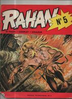 RAHAN T 5 L'arme Qui Vole L'arbre Du Demon EO BE VAILLANT 01/1973 Lecureux Cheret (BI4) - Rahan