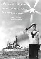 Marinaio Con Nave G. Garibaldi E Verso Preghiera. Non Viaggiata - Altri