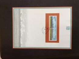 Feuillet Commémoratif 1999 NL37 Europa Parc N Des Hautes Tatras Oblitéré Chamois - Slovacchia