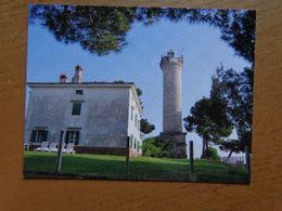 Vuurtoren, Phare, Lighthouse / Punta Salvore Bassania (Croatia) Savudrija Lighthouse -> Unwritten - Lighthouses
