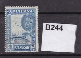 Selangor 1961 20c - Selangor