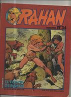 RAHAN T 34 L'herbe Miracle Tous Pour Un  BE VAILLANT 05/1983 Lecureux Cheret (BI4) - Rahan