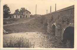 CPA Thorey-sur-Ouche Le Pont Et La Gare - Autres Communes