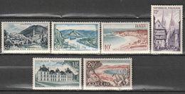 FRANCE    Série Touristique  N° Y&T  976 à 981  * - Ungebraucht