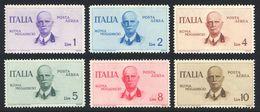 1934 VOLO ROMA-MOGADISCIO N.83/88 NUOVI* LEGGERISSIMA TRACCIA DI LINGUELLA QUALITA' ECCEZIONALE - MLVH EXTRA LUXUS - Posta Aerea