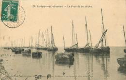 95 SAINT VALERY SUR SOMME - La Flottille De Pêche - Saint Valery Sur Somme