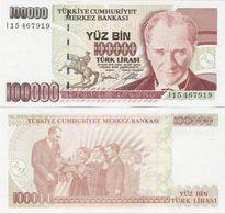 Turkey 1997 - 100000 Lirasi - Pick 206 UNC - Turchia