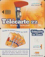 262/ Morocco; P?. Wall Phone - Marokko