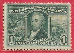 Etats-Unis D'Amérique N°159 1c Vert 1904 (*) - United States