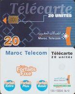 264/ Morocco; P?. Télécarte - Blue - Marokko