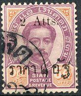 Stamp Siam,Thailand 1894-99 King Chulalongkorn Overprint Used Lot83 - Thailand