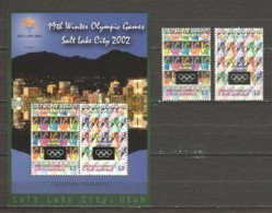 Grenada Grenadines 2002 Mi 3768-3769 + Block 546 MNH WINTER OLYMPICS SALT LAKE CITY - Winter 2002: Salt Lake City