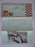 Israel Aerogramme Stationary Entier Postal 1975 0.80 + 0.20 Yeshivat Kerem B'yavneh Shiqmim To Antwerp Belgium - Aéreo