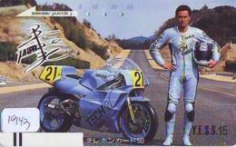 Télécarte Japon * FRONT BAR * 110-22363 * YAMAHA * SERIE YESS 15 * MOTO  (1943) MOTORBIKE * PHONECARD JAPAN - Motos