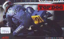 Télécarte Japon * FRONT BAR * 110-44904 * YAMAHA * MOTO  (1944) MOTORBIKE * PHONECARD JAPAN - Motos