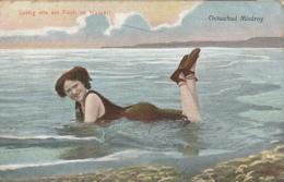 Color-Ansichtskarte Ostseebad Misdroy-Humor 1914 Gelaufen - Pommern