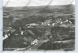 5202 HENNEF - STAD BLANKENBERG, Luftaufbahne, 1965 - Hennef