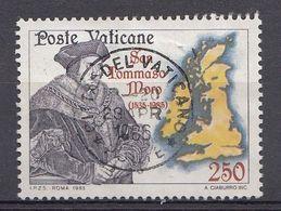 Vatikaan 1985  Mi.nr. 870 Todestag Des Hl.Thomas Mora   OBLITÉRÉS-USED-GEBRUIKT - Vatican