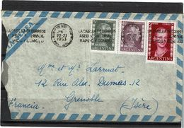 CTN63 - ARGENTINE LETTRE AVION JUIN 1953 - Argentina