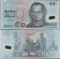 Thailand 1997 - 50 Baht - Pick 102 UNC Polymer - Tailandia