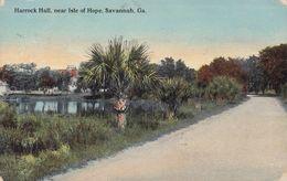 United States PPC Harrock Hall, Near Isle Of Hope, Savannah, Georgia M. Kirby & Co. SAVANNAH 1912 (2 Scans) - Savannah