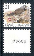 BELGIE * Buzin * Nr R 88 * Postfris Xx - Franqueo