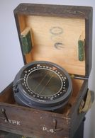 One Vintage P4 Aircraft Compass RAF Lancaster Bombers WW2 - Bussole Bussola - Luchtvaart