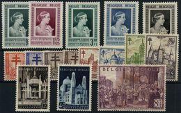 Bélgica Nº 863/78. Año 1951/52 - Ungebraucht