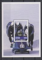 Olympics 1998 - Olympiques - Bobsleigh - GUYANA - S/S MNH - Invierno 1998: Nagano
