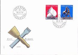 Schweiz Switzerland Suisse - Europa (MiNr. 1029/30) 1974 - FDC - Europa-CEPT