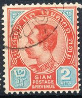 Stamp Siam,Thailand 1899-1904 King Chulalongkorn 2a Used Lot33 - Tailandia