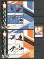 Guyana - Limited Edition Set MH - WINTER OLYMPICS SALT LAKE CITY 2002 - Winter 2002: Salt Lake City
