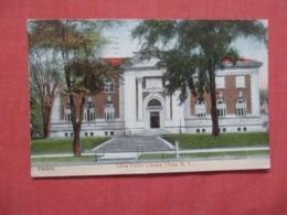 Library  Utica   New York     .   Ref 4170 - Utica