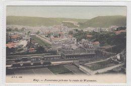 Huy. Panorama Pris Sur La Route De Waremme. - Huy