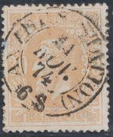 """émission 1869 - N°33 Obl Double Cercle """"Anvers (station)"""" (Dcb) / Collection Spécialisée. - 1869-1883 Leopold II"""